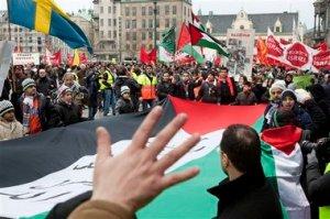 Sweden Israel Protests